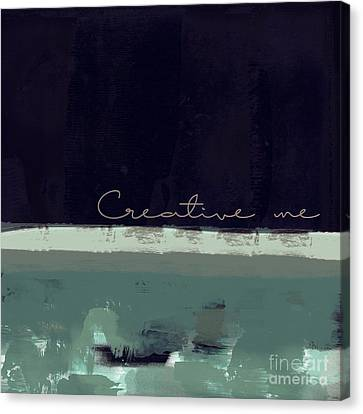 Minima - Creative Me - Ch01b Canvas Print by Variance Collections