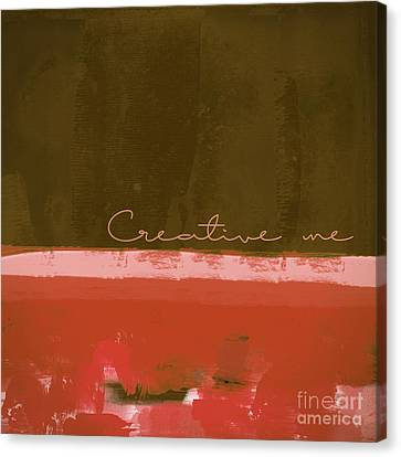 Minima - Creative Me - Ch201 Canvas Print by Variance Collections