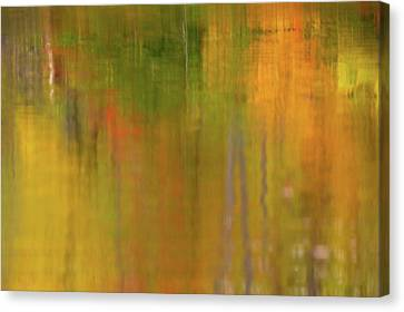 Minimalism Autumn  Canvas Print