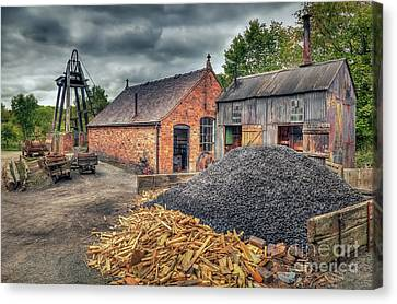 Canvas Print featuring the photograph Mining Village by Adrian Evans