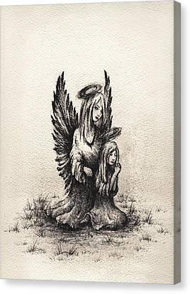 Ministering Angel Canvas Print