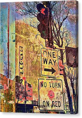 Minneapolis Uptown Energy Canvas Print by Susan Stone