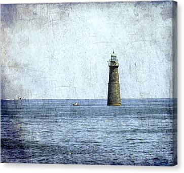 Minot Ledge Light Canvas Print