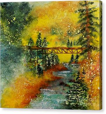 Minturn In Autumn Canvas Print