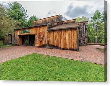 Minute Man National Historical Park Visitor Center Canvas Print by Brian MacLean