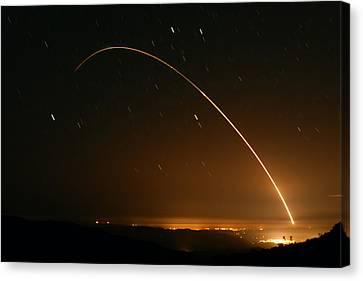 Minuteman IIi Launch April 2 2008 Canvas Print by Brian Lockett