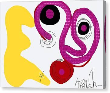 Miro Miro On The Wall Canvas Print
