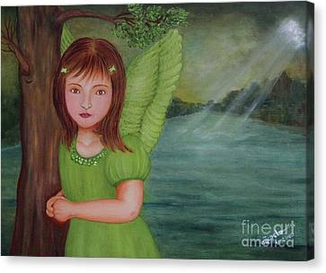 Miracle Canvas Print by Desiree Micaela