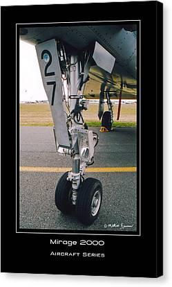 Mirage 2000 Canvas Print by Mathias Rousseau