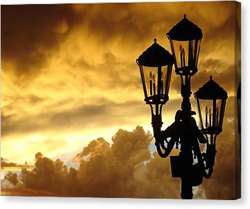 Mirage Night Sky Canvas Print by Michael Simeone
