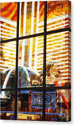 Mirage Reflection Canvas Print by Richard Henne