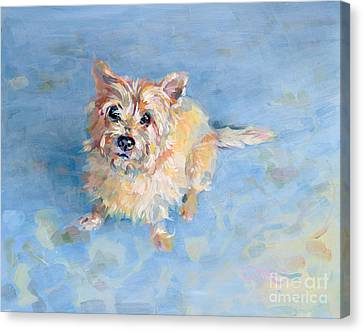 Miri's Memory Canvas Print by Kimberly Santini