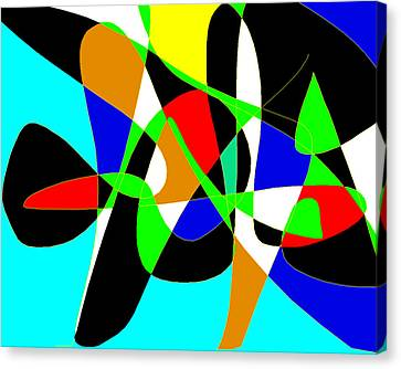 Miro Canvas Print by Sasha Alaily