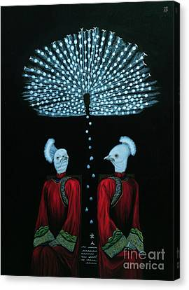 Mirror Canvas Print by Fei A