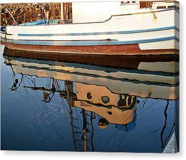 Mirror Image Canvas Print by Carol Grimes