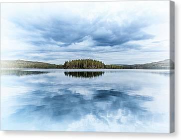 Mirror Lake Canvas Print by Emanuele Carlisi