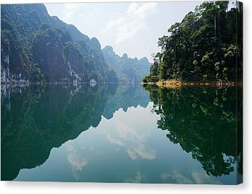 Mirror Lake Canvas Print by Julia Ivanovna Willhite
