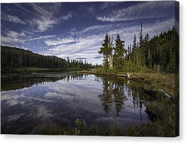 Mirror Lake Canvas Print by Michael Donahue