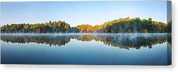 Early Morning Canvas Print - Mirror Lake by Scott Norris