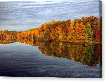 Mirror Mirror On The Fall Canvas Print