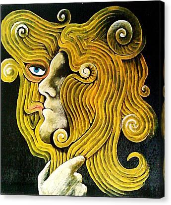 Illusory Appearances Canvas Print - Mirror by Paulo Zerbato
