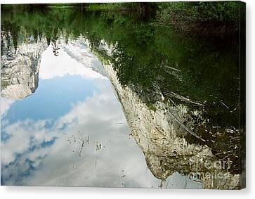 Mirrored Canvas Print by Kathy McClure