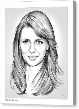 New Stage Canvas Print - Mischa Barton by Greg Joens