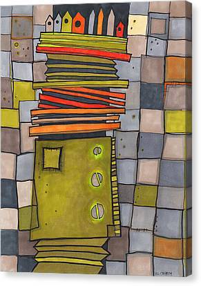 Misconstrued Housing Canvas Print