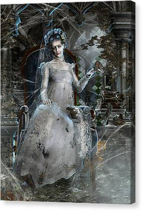 Miss. Havisham Canvas Print by Mary Hood