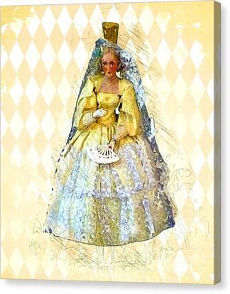 Miss Havisham Canvas Print by Methune Hively