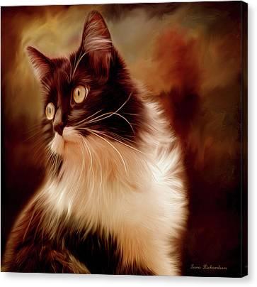 Miss Kitty Canvas Print by Tara Lee Richardson