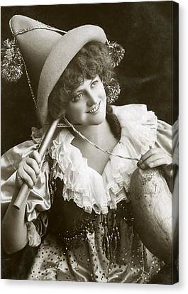 Miss Marie Studholme As Lady Madcap 1905 Canvas Print
