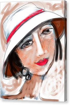 Miss Mary Canvas Print