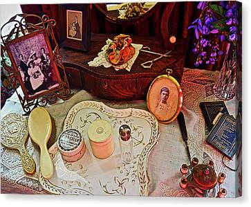 Miss Mary's Table. Canvas Print