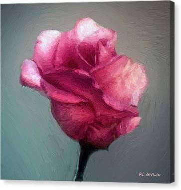 Miss Melanie Canvas Print