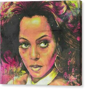 Miss Ross Canvas Print by Blackwater Studio