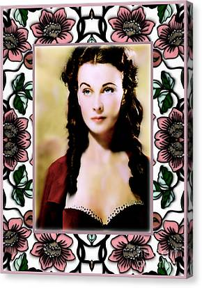 Miss Scarlet Canvas Print