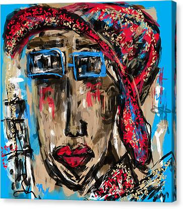 Miss You Canvas Print by Sladjana Lazarevic