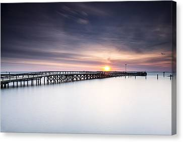 Stopper Canvas Print - Missed It By That Much by Edward Kreis