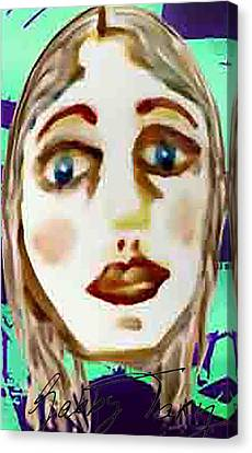 Missing Mirror Canvas Print