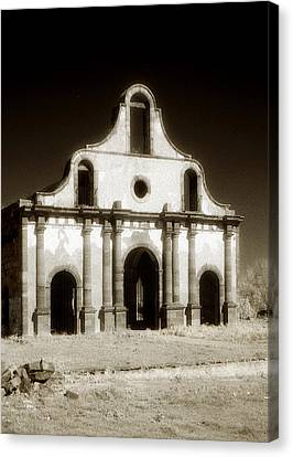 Mission Abandoned Canvas Print by Marilyn Hunt