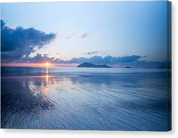 Mission Beach Glass Canvas Print