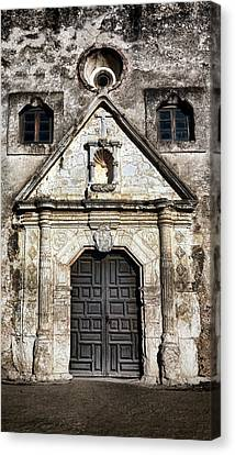 Mission Concepcion Front Canvas Print by Stephen Stookey