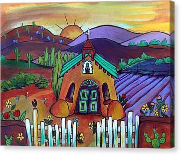 Mission Del Corazon Canvas Print