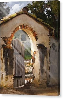 Mission Gate Canvas Print