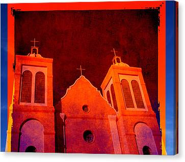 Mission In New Mexico Canvas Print