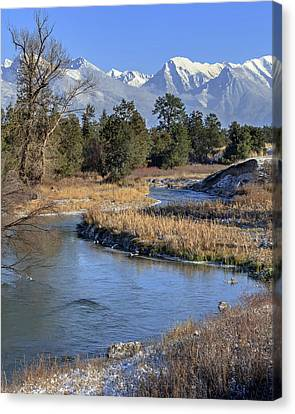 Mission Mountains Canvas Print