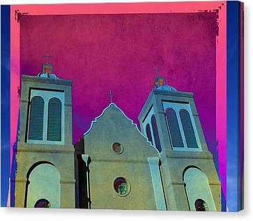 Mission New Mexico Var.2 Canvas Print by Susanne Van Hulst