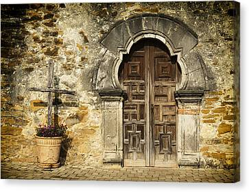 Mission Pilgrimage Canvas Print by Stephen Stookey