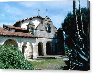 mission San antonio 2 Canvas Print by Gary Brandes